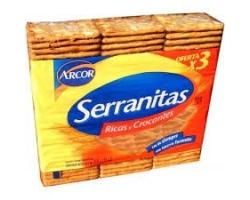 Serranitas 3pak 315gs x 10...