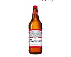cerveza budweiser x1 lt...