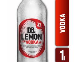 dr lemon vodka x 1lt precio...